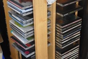 所有CDの枚数と聴く回数の関係