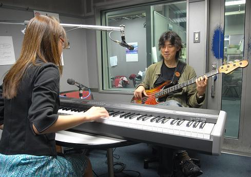 "I play ""my"" bass."