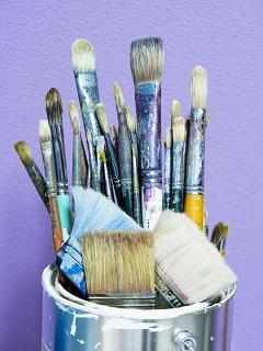 プラモは筆塗り、フデヌリンな私