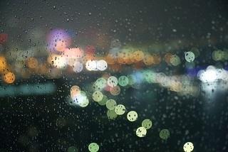雨の西麻布
