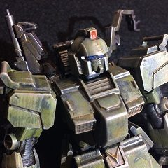 HG 陸戦型ガンダムS型(機動戦士ガンダム サンダーボルトver.)制作レポート