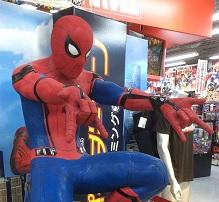 スパイダーマンになりたい