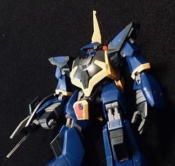 素組み!バーザム(HGUC)from 機動戦士Zガンダム