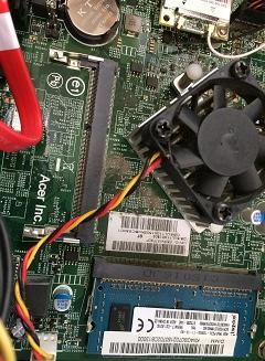 パソコンメモリー増設失敗!/ACERのデスクトップPC