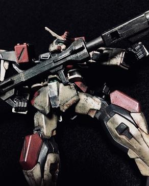 素組み! R-03 GAT-X103 バスターガンダム from 機動戦士ガンダムSEED