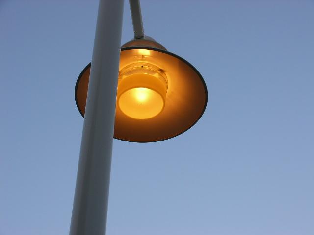 シリコンバレーの電灯