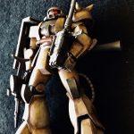 ガルマザクを砂漠塗り/HGUCガルマ・ザビ専用ザクII FS型