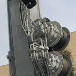 コード巻取り機とドイツの88ミリ砲