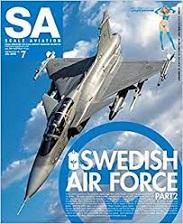 『Scale Aviation』2019年7月号~松本州平氏作のサーブビゲンが美しい!