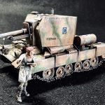 英国陸軍 ビショップ25ポンド自走榴弾砲(Dragon)制作記