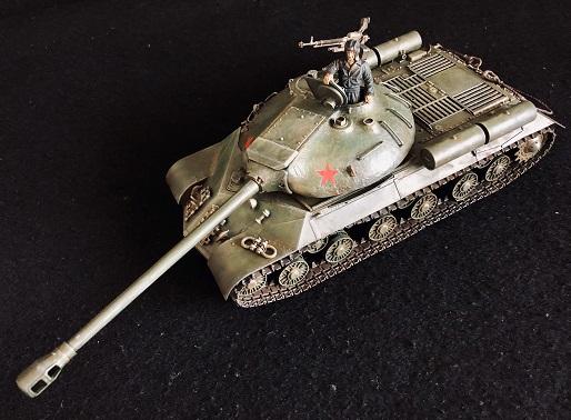 ソビエト陸軍 重戦車 JS3 スターリン 3型 タミヤ1/35 制作記
