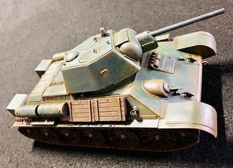 ソビエト陸軍 T34/76戦車 1943年型 タミヤ1/35制作記