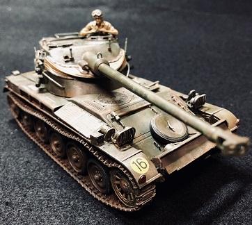 フランス陸軍 軽戦車 AMX-13 タミヤ1/35 制作記