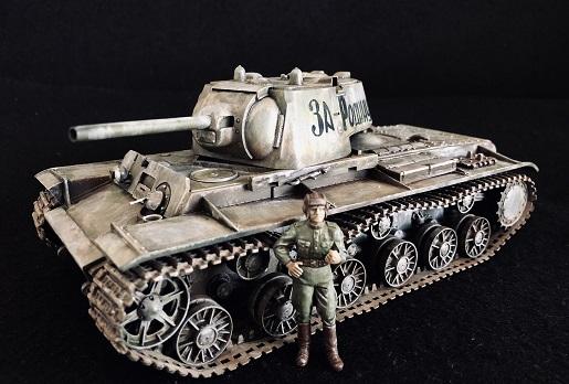ソビエト戦車 KV-I C型 タミヤ1/35 制作記
