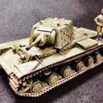 追加装甲がたまらん!タミヤのKV-IB制作記