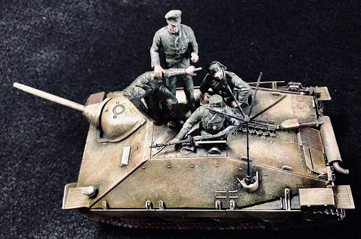 ドラゴンの駆逐戦車ヘッツァー1/35制作記