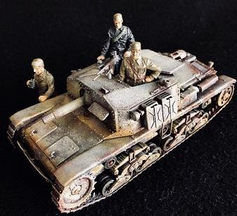 イタリア自走砲M40セモヴェンテ、また作りました(タミヤ1/35)