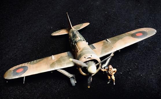 タミヤ 1/48 B-339バッファロー(太平洋戦線)制作記